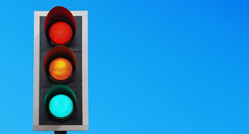 Traffic lights in different countries