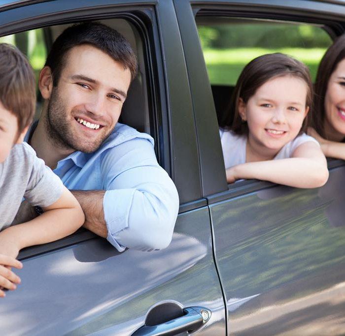 Características de los viajes familiares en vehículo