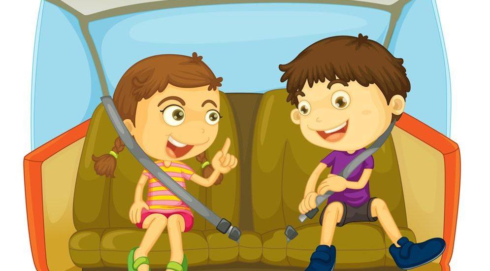 Cómo entretener a un niño en el camino