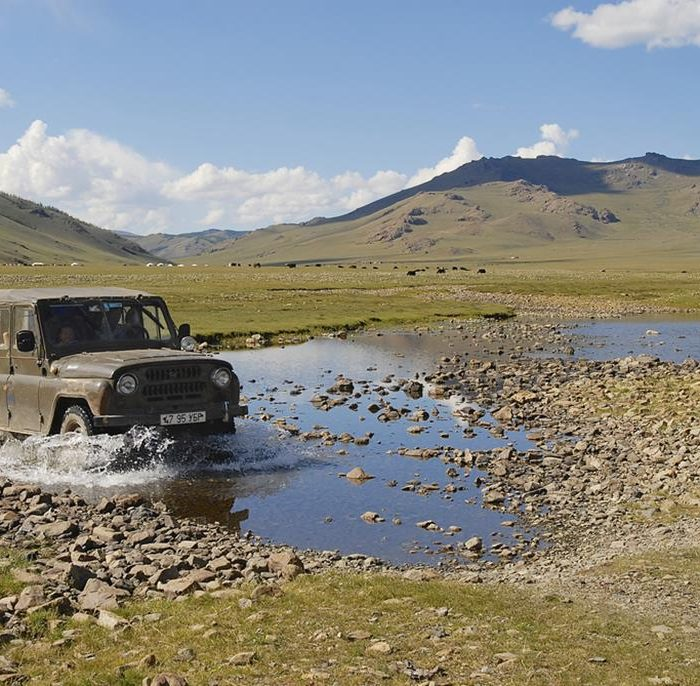 A car trip across Mongolia