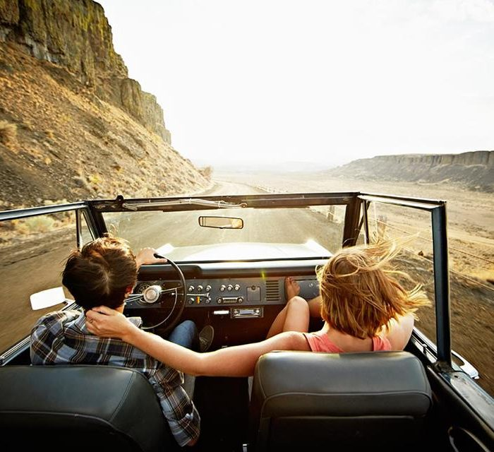 Viajes en vehículos durante días libres