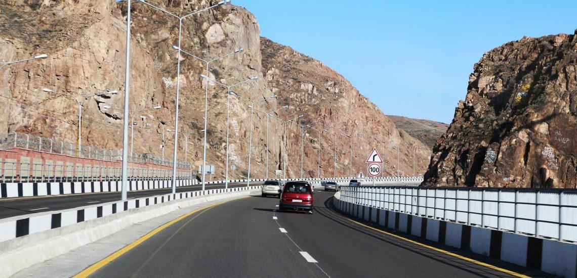 Carreteras kazajas