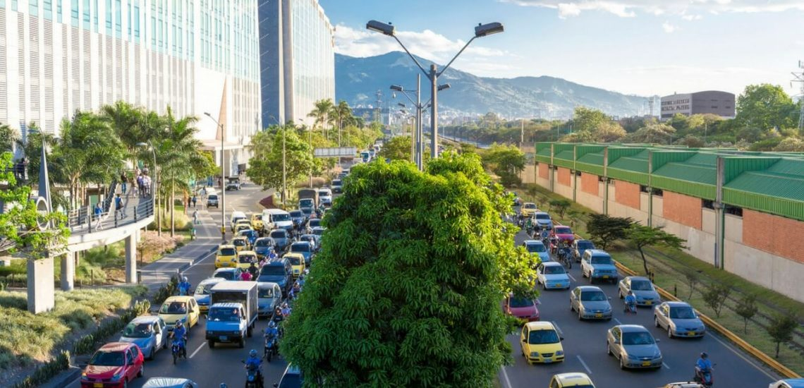 Passing driving exam in Colombia