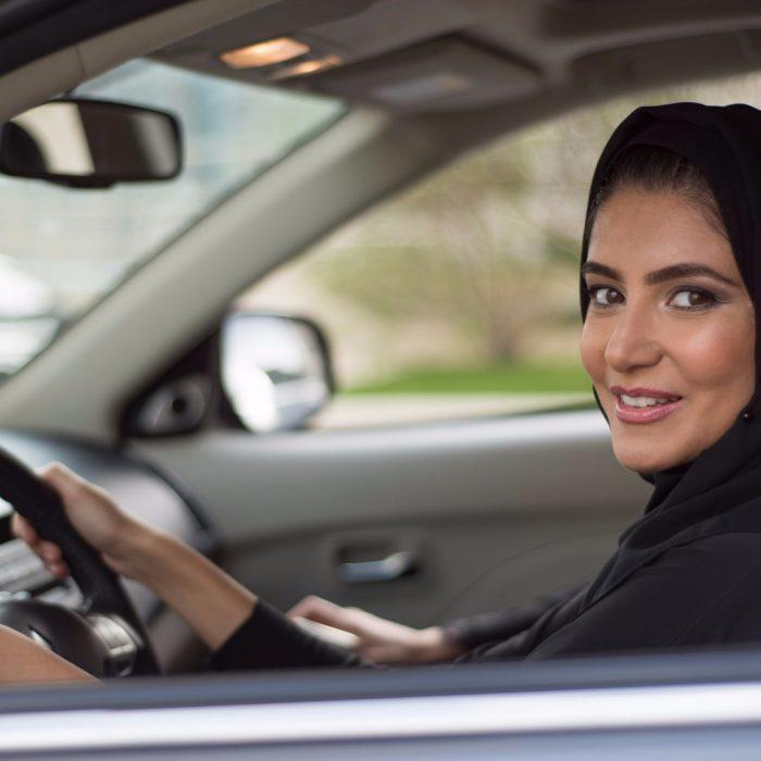Conductoras en Arabia Saudita