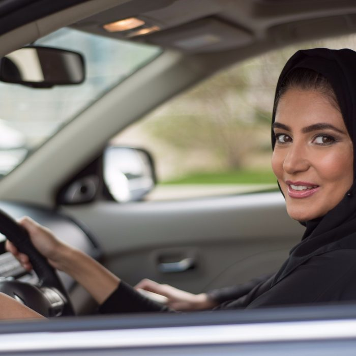 Female drivers in Saudi Arabia
