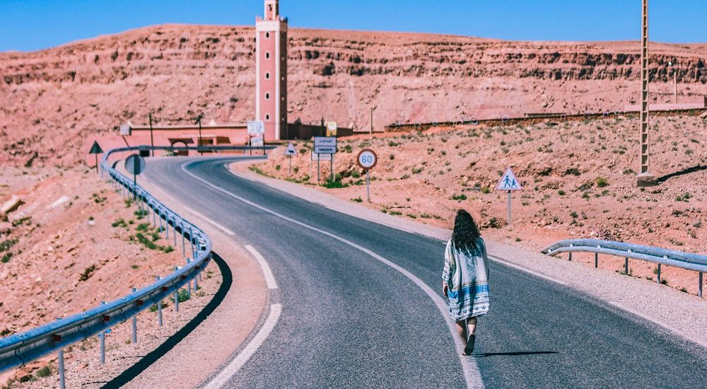 Un paseo por carretera a través de Marruecos