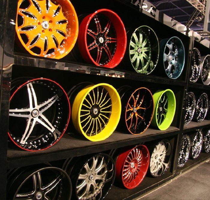 Escoger los rines de las ruedas