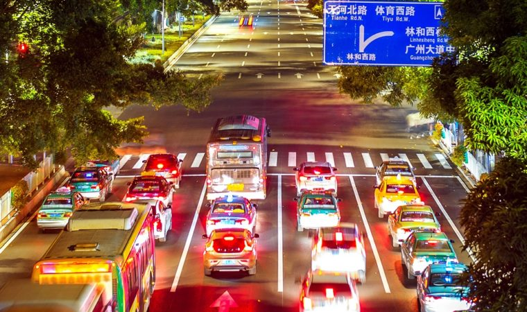 Normas de tránsito chinas