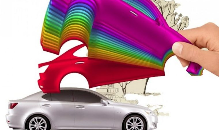 Car paints: composition and effects of painting
