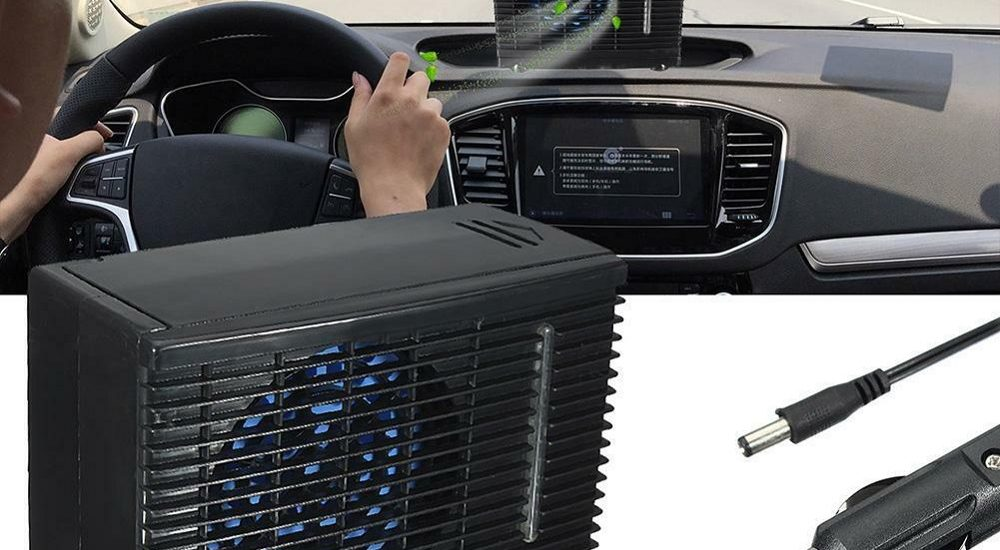 Portable automobile air conditioner