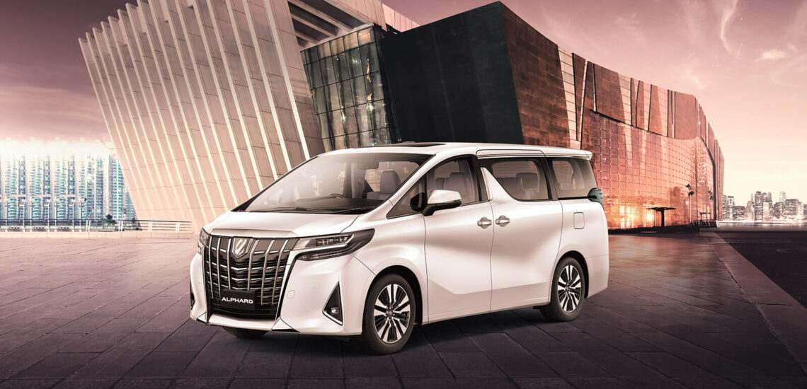 Toyota Alphard - beautiful and smart
