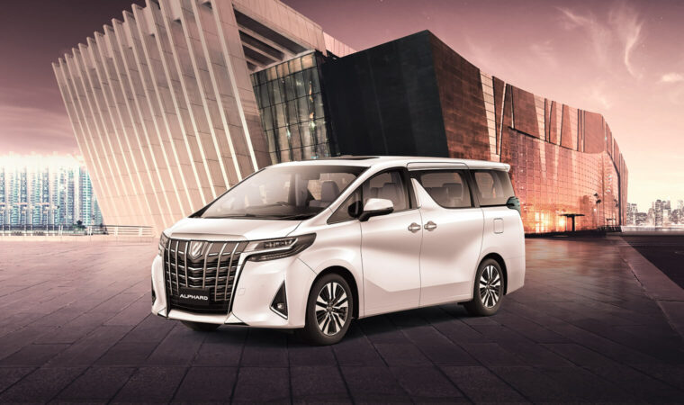 Toyota Alphard - beautiful and smart