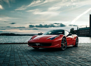 Enzo Ferrari and his creation