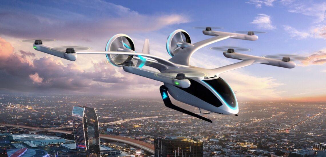 eVTOL fliegende Maschinen