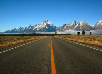 Farbpaletten der berühmtesten Routen der Welt