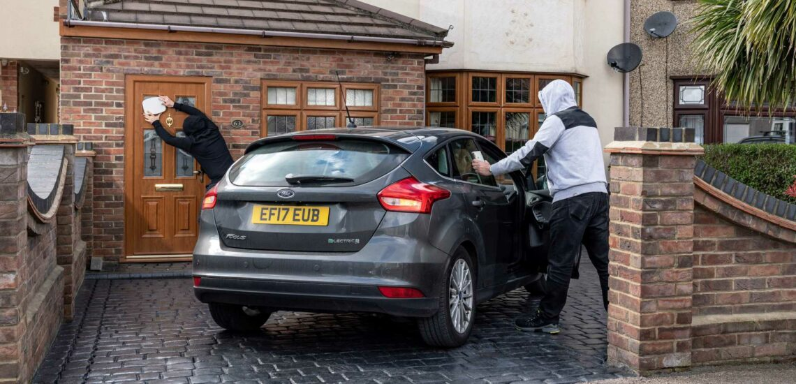 How to avoid theft of a keyless car