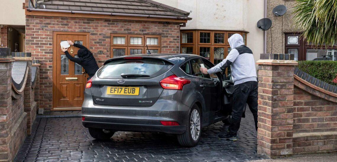 Wie man das Auto mit schlüsselfreiem Zugang gegen Diebstahl sichert