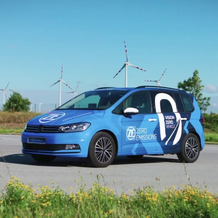 Safe driving with the ZF Vision Zero prototype