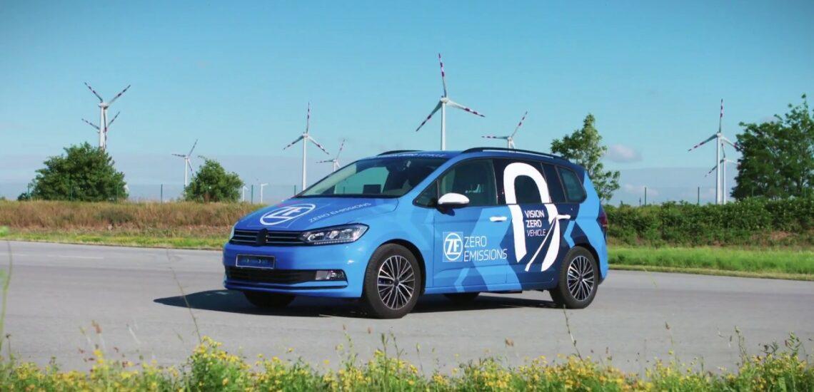 Conducción segura con el prototipo ZF Vision Zero